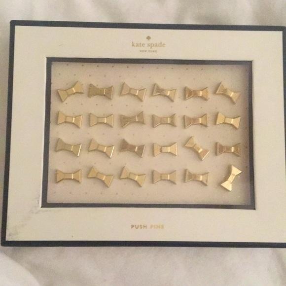 Kate Spade Bow Push Pins